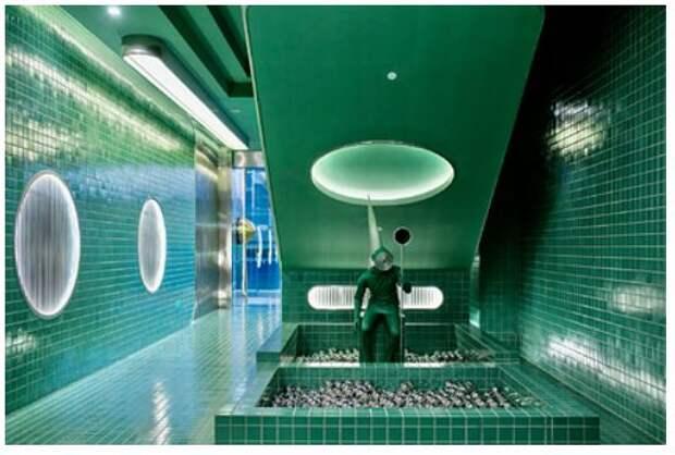 В Китае построили «космические» туалеты