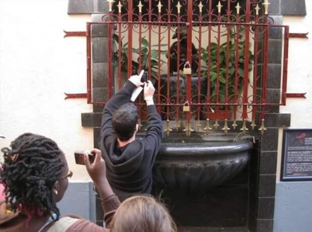 Писают все, или необычные скульптуры в Брюсселе (6 фото)