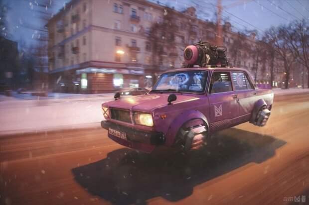 """Арт-проект """"Россия 2077"""""""