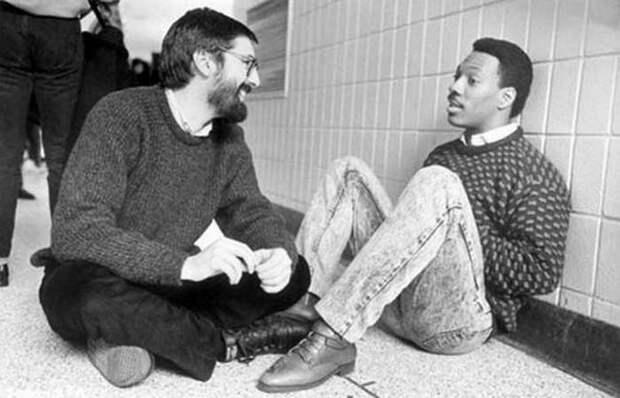 Джон Лэндис и Мерфи. | Фото:  lichnosti.net