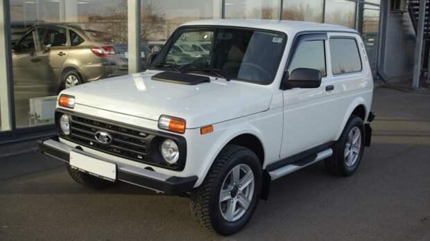 Первую партию новых внедорожников Lada 4×4 сняли с продажи