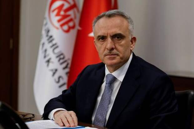 Turkey's Central Bank Governor Naci Agbal poses during an interview with Reuters in his office in Istanbul, Turkey, February 4, 2021. Picture taken February 4, 2021. REUTERS/Umit Bektas