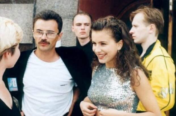 Анни Лорак и Юрий Фалеса