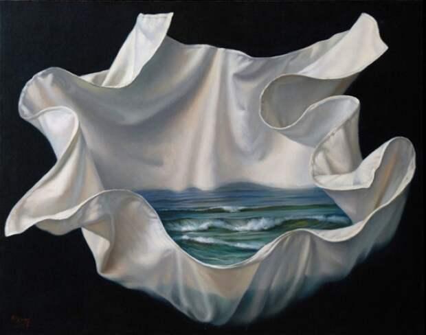 Море в подарок. Автор: испанский художник Алекс Алемани (Alex Alemany).