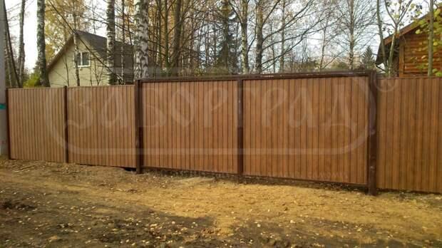 Подбираем забор для частного дома