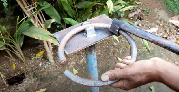 Как согнуть круглый пруток в кольцо