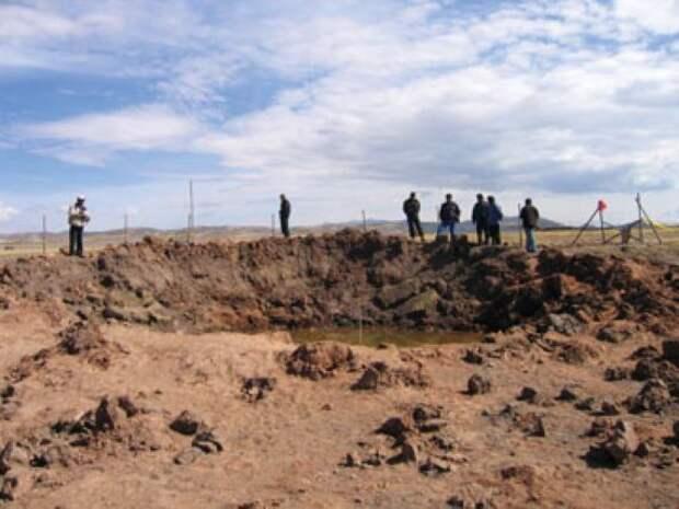 Странный случай загадочной болезни вызванной упавшим метеоритом