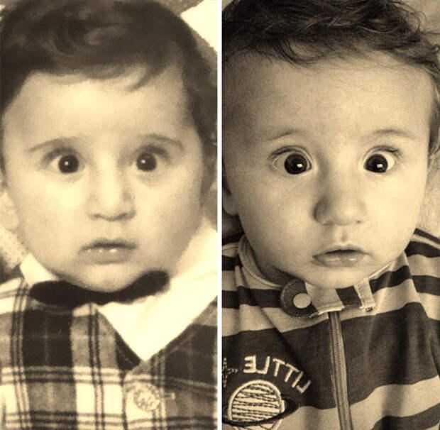 поразительное сходство детей и их родителей (6)