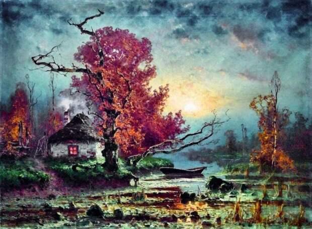 художник Юлий Юльевич Клевер картины – 32