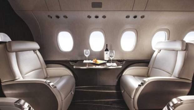 Внутри пяти самых роскошных частных самолетов вмире
