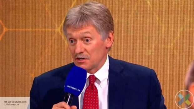 Песков назвал условия нормализации отношений России и Украины