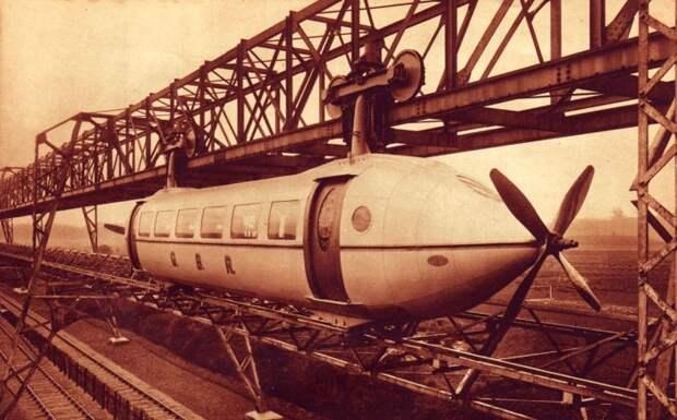 Прерванная эпоха монорельса: почему необычный транспорт оказался практически забыт