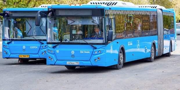 Два проходящих через Алтуфьево автобусных маршрута изменятся