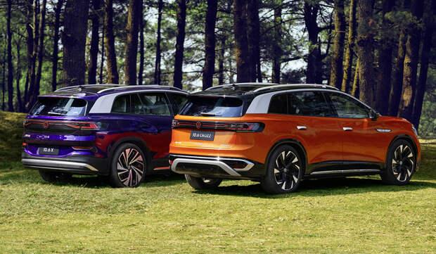 Представлен электрический кроссовер Volkswagen ID.6 с запасом хода почти 600 км