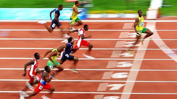 Как Усэйн Болт стал легендой. Вспоминаем его великий олимпийский забег вПекине-2008: видео