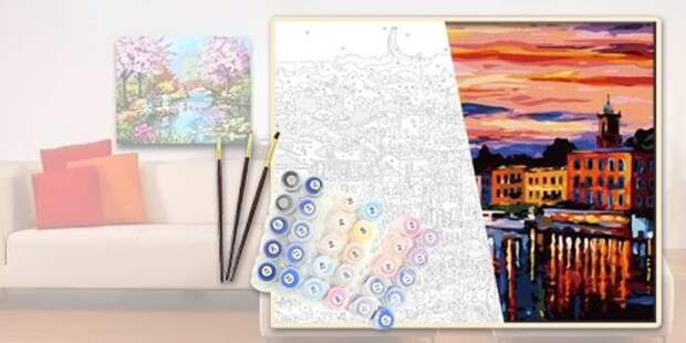 Картины по номерам - хобби, которое захватило всех! У меня их уже три, а сколько картин раскрасили вы?