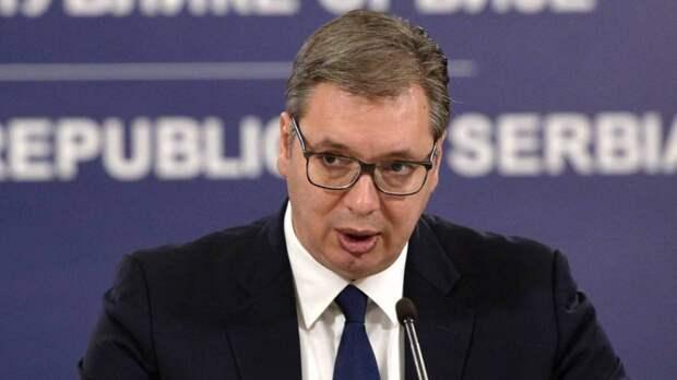 Сербский президент Вучич намерен выступить в Госдуме с речью на русском языке