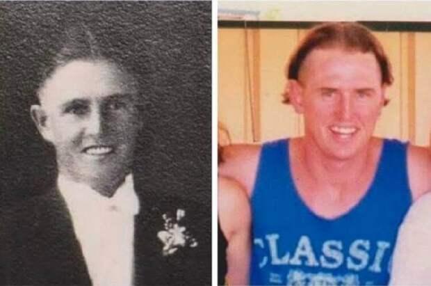 Чудеса генетики: 25 фото, показывающих удивительное сходство между родственниками