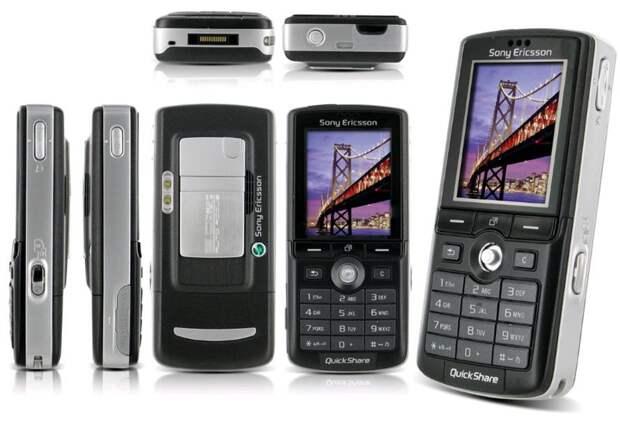 2. Sony Ericsson k750 (2005, $700) история, телефон, факты