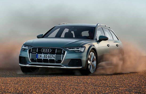 До России добрался Audi A6 allroad quattro