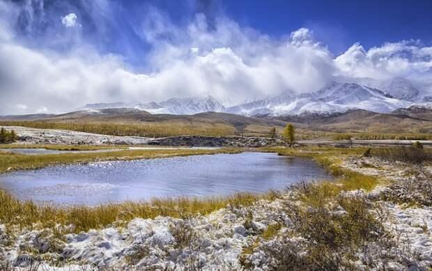 Озеро Джангысколь. Алтай.