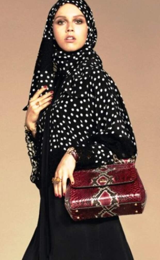 Бренд Dolce&Gabbana вышел на новый рынок — выпустил коллекцию абай и хиджабов в типичном для себя роскошном стиле