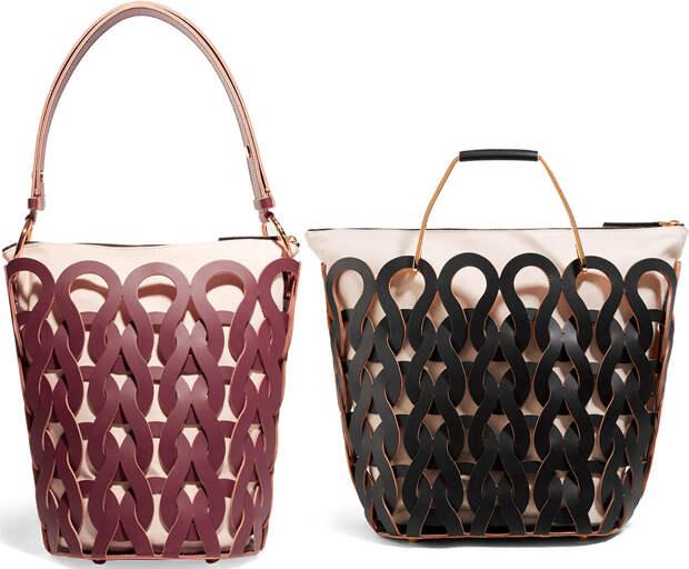 Женские сумки с перфорацией 2018