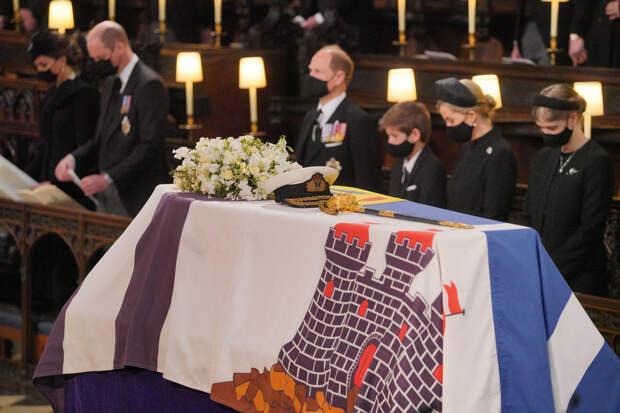 Кто присутствовал на похоронах принца Филиппа?