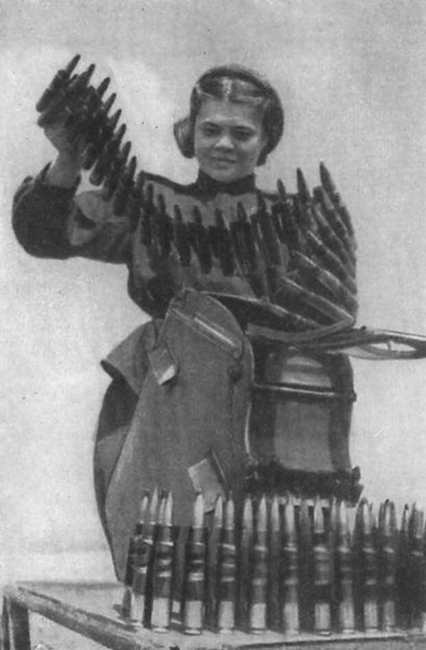 Женщины времен Великой Отечественной