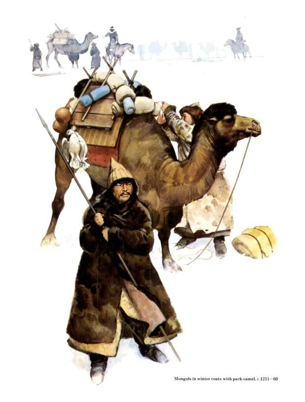 Природно-климатические условия территории монголов в эпоху становления Монгольского государства.