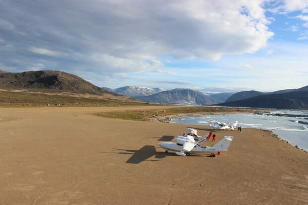 Самарские воздушные суда пролетели над Россией, США, Канадой, Гренландией, Исландией и Норвегией