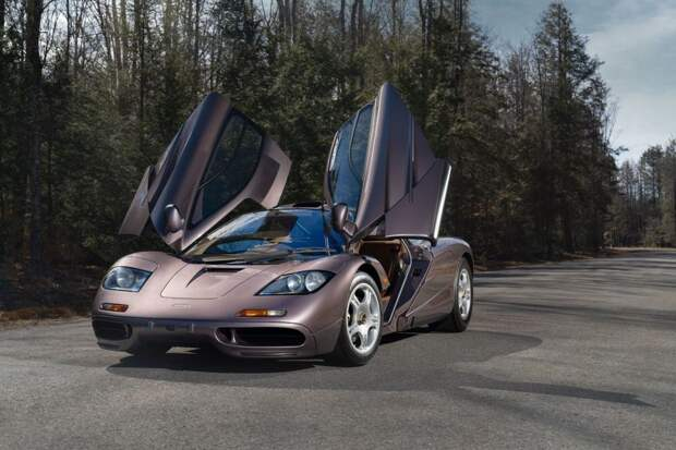 Самый дорогой когда-либо проданный дорожный McLaren F1