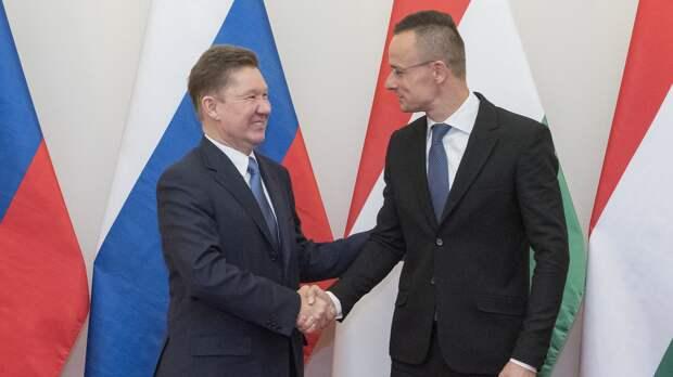 Киев расстроился, что российский газ пойдет в Венгрию в обход