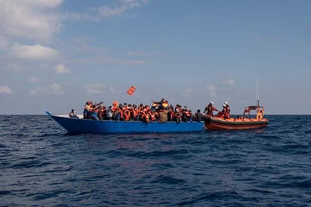 В Средиземном море погибли 130 нелегальных мигрантов
