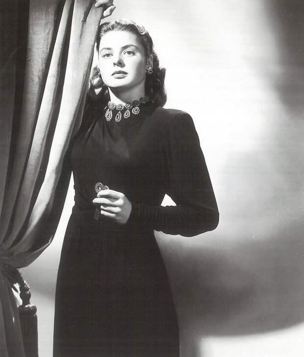 Шведская актриса Ингрид Бергман. Фото / Ingrid Bergman. Photo