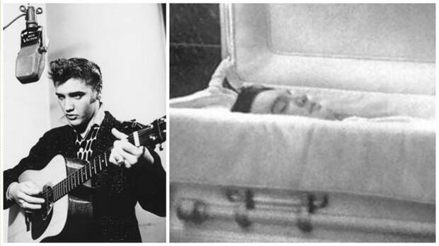 Подборка посмертных фотографий знаменитостей и подробности того, как они умерли