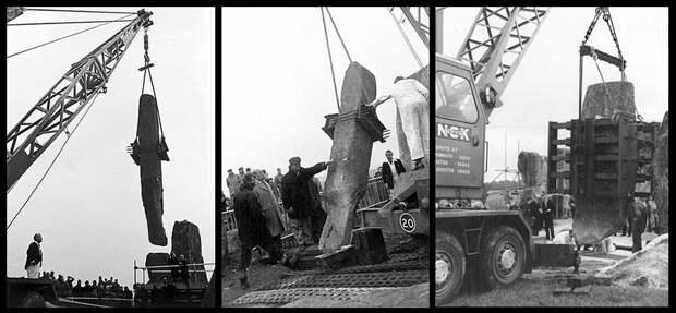 Стоунхендж  в фотографиях XIX и XX века.