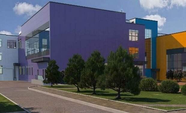 Новое здание возведут внутри строящегося квартала// проектное решение, stroi.mos.ru