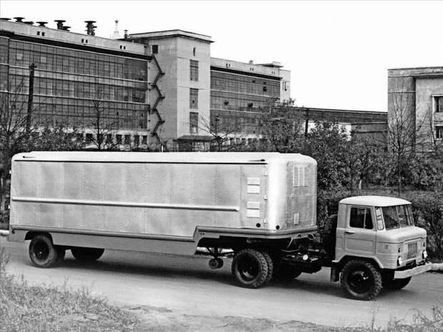 Опытный образец седельного тягача ГАЗ-53П СССР, автомобили, советская техника, советские машины