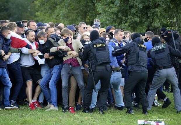 Протесты и задержания в Минске 13.09.2020