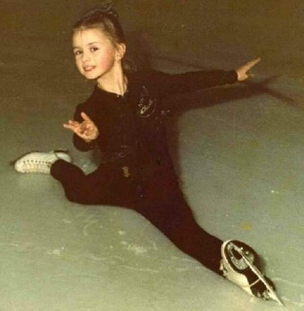 Вы это уже не помните: Как в юности Анна Семенович подавала надежды в фигурном катании