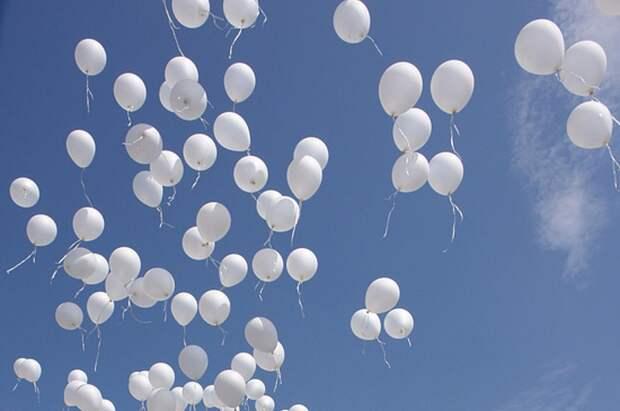 Белые шары запустят в Лианозове в память о жертвах теракта в Беслане