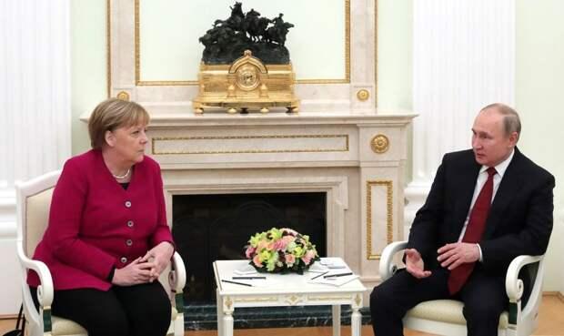 Реальный политик Ангела Меркель