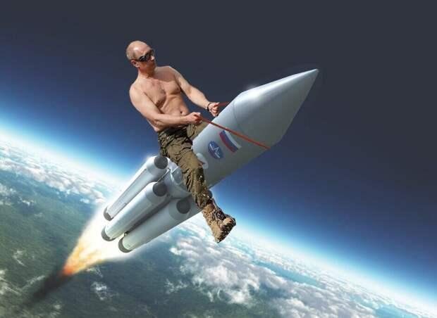 А Путина там не видели, не?