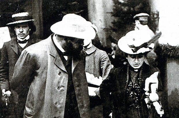 Александр Парвус и Роза Люксембург.