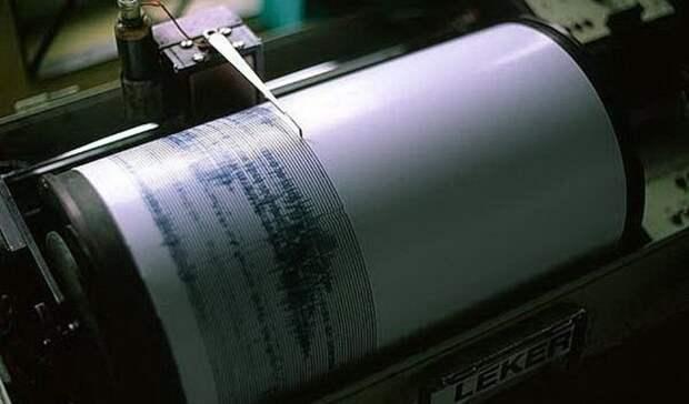 Упобережья Камчатки произошло землетрясение магнитудой 5,3