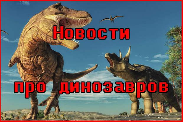Новости о динозаврах