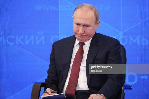О беспощадном и окончательном диагнозе Путина