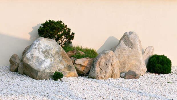 Не всякая ландшафтная композиция с камнями - альпийская горка