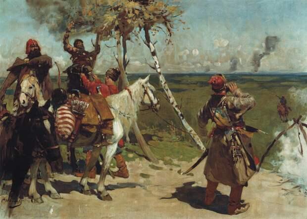 Формирование сторожевой (пограничной) службы Русского государства в первой половине XVI века.